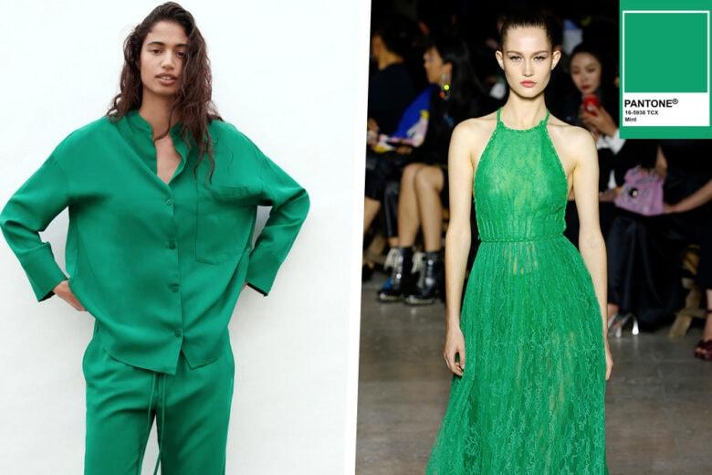 """Voglia di """"freshness"""" nel vostro guardaroba? La soluzione è uno """"shot"""" di verde Mint!"""