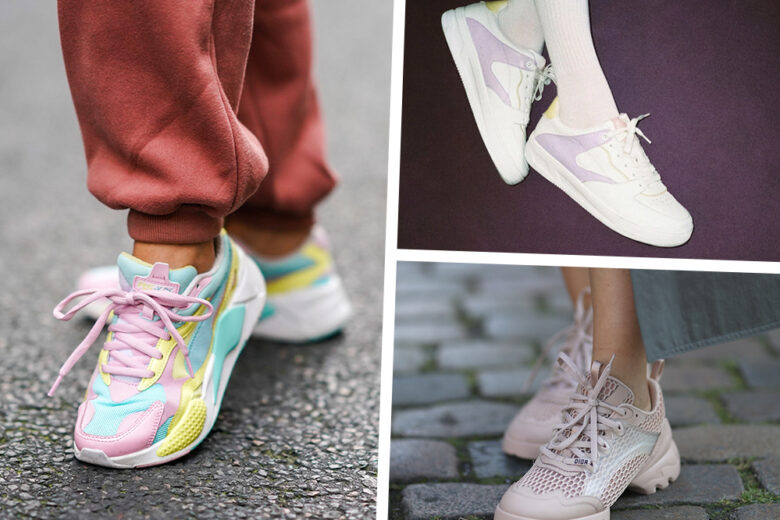 """Le sneakers più """"cute"""" della primavera? Sono a tinte pastello!"""