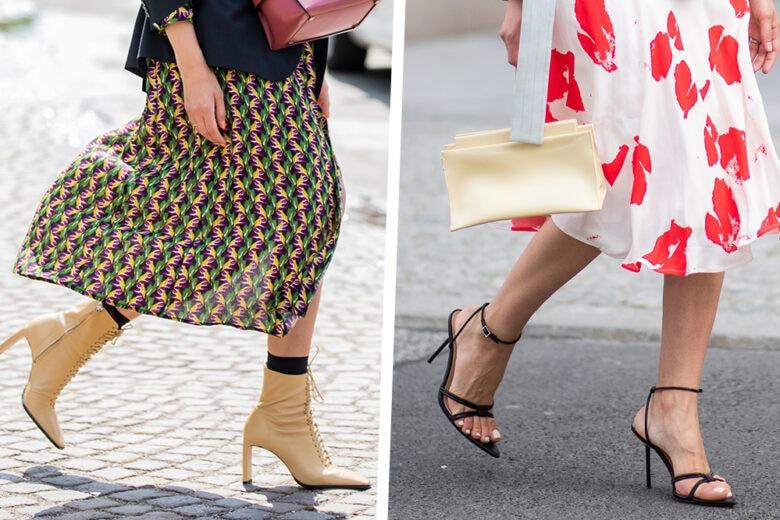 Con quali scarpe indossare le gonne midi? Ecco 5 modelli per look wow!
