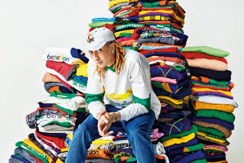 United Colors Of Benetton sceglie Ghali come suo brand ambassador 2021