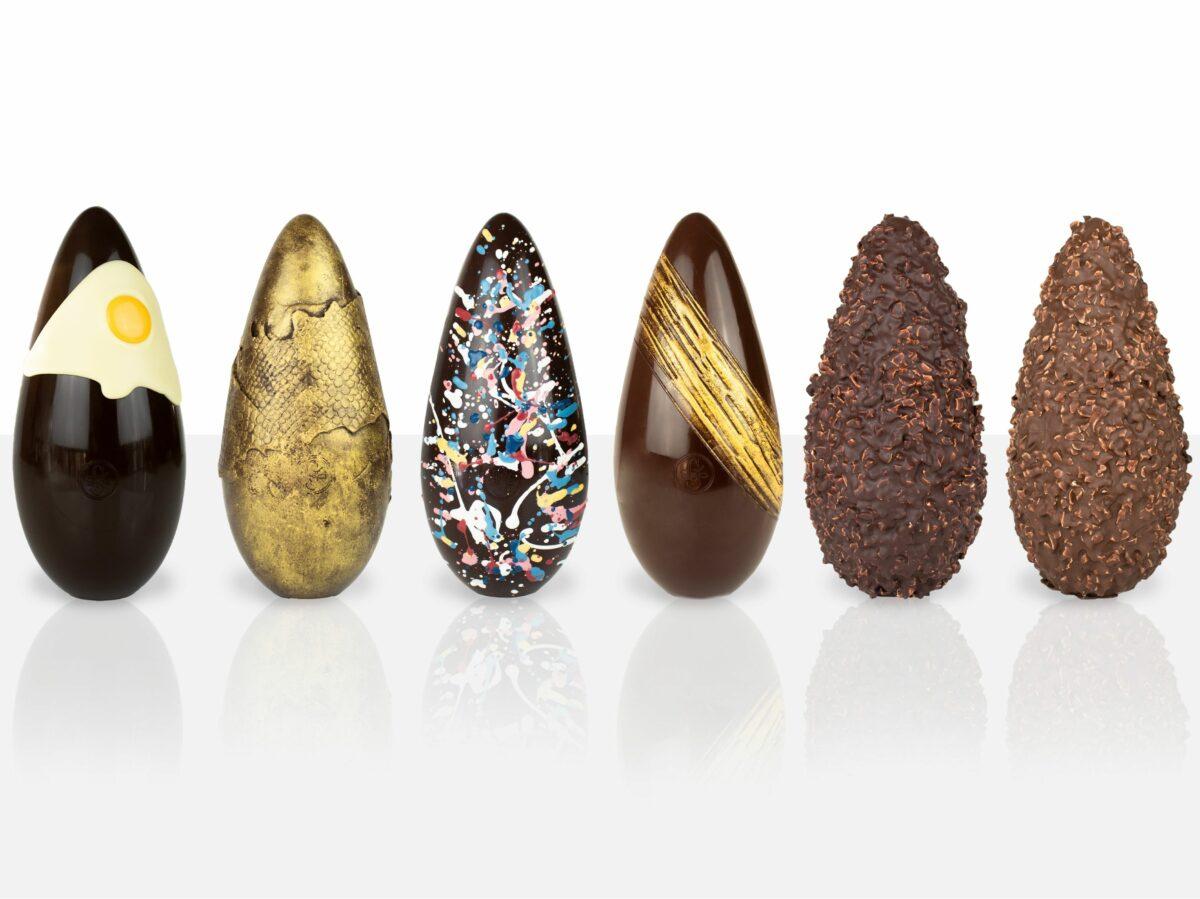 Guido Gobino cioccolateria torinese Colombe e uova pasqua artigianali delivery