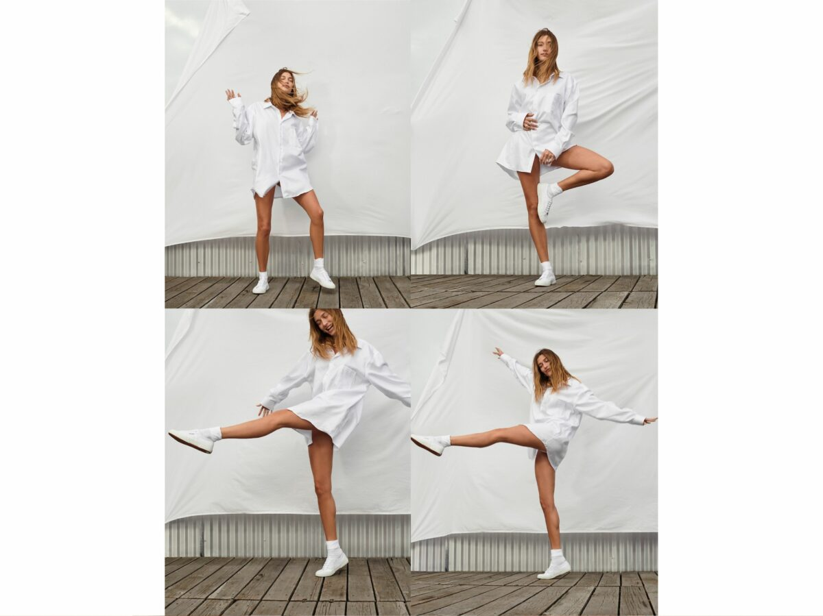 Hailey Bieber la nuova Global Ambassador per Superga 7