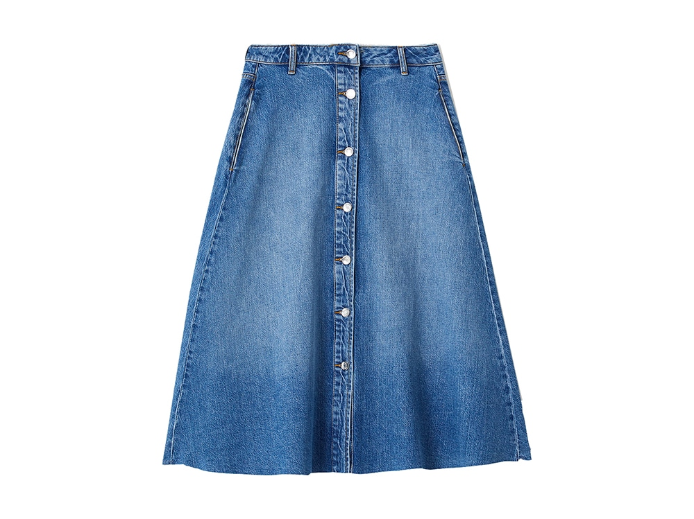 LIU-JO-GONNA-MIDI-IN-DENIM-CON-BOTTONI-FRONTALI