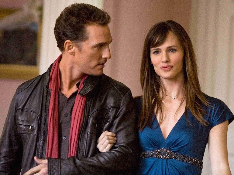 Matthew McConaughey giacca di pelle