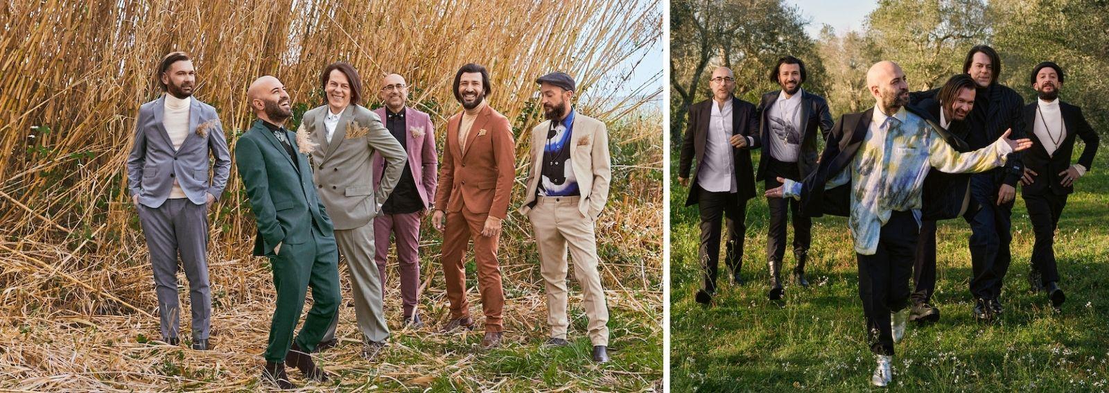 Negramaro per Zalando Festival Sanremo 2021 DESK