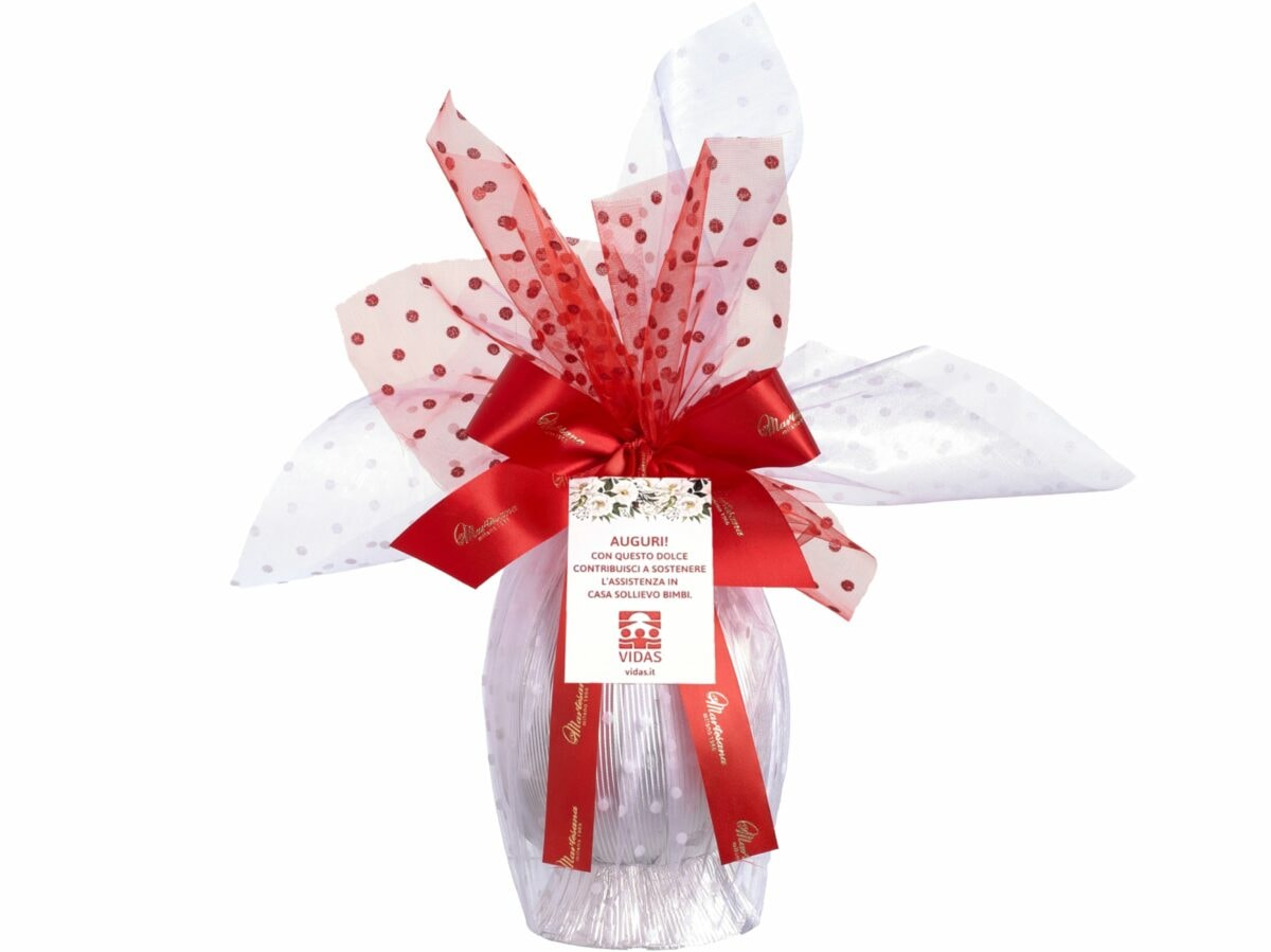 Uovo cioccolato pasqua solidale associazione VIDAS Colombe e uova pasqua artigianali delivery