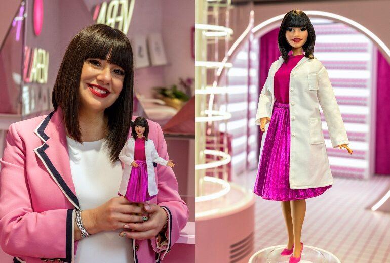 Barbie dedica una bambola a Cristina Fogazzi (aka L'estetista cinica)