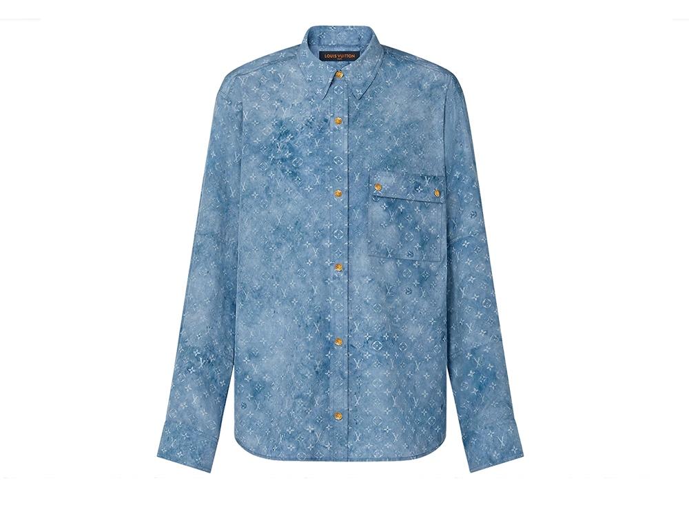 camicia-in-seta-lavata-effetto-denim-LOUIS-VUITTON