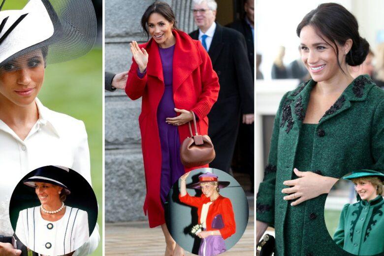 Royal style: tutte le volte in cui Meghan Markle si è ispirata ai look di Lady Diana