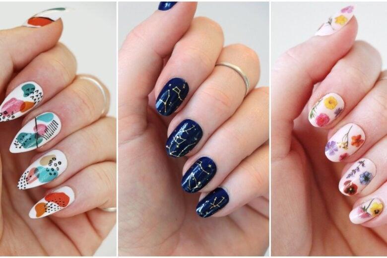 Nail Art Primavera Estate 2021: le idee da copiare per unghie particolari e glam