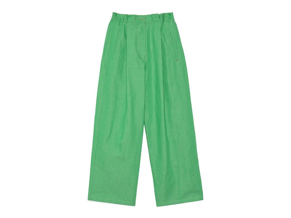 otto-d'ame-pantalone-cropped-verde-in-misto-lino