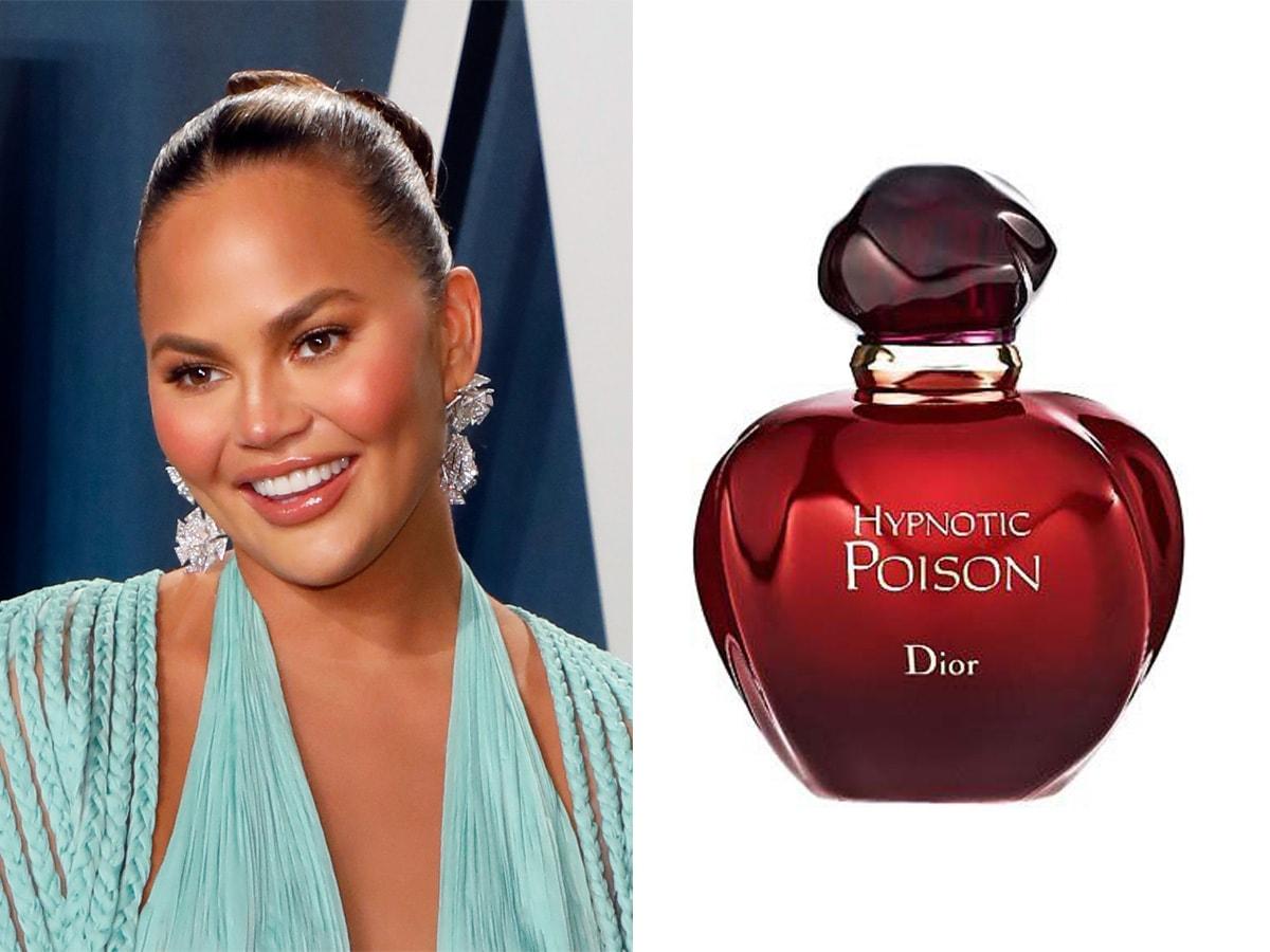 profumi-preferiti-star-Chrissy-Teigen dior hypnotic poison