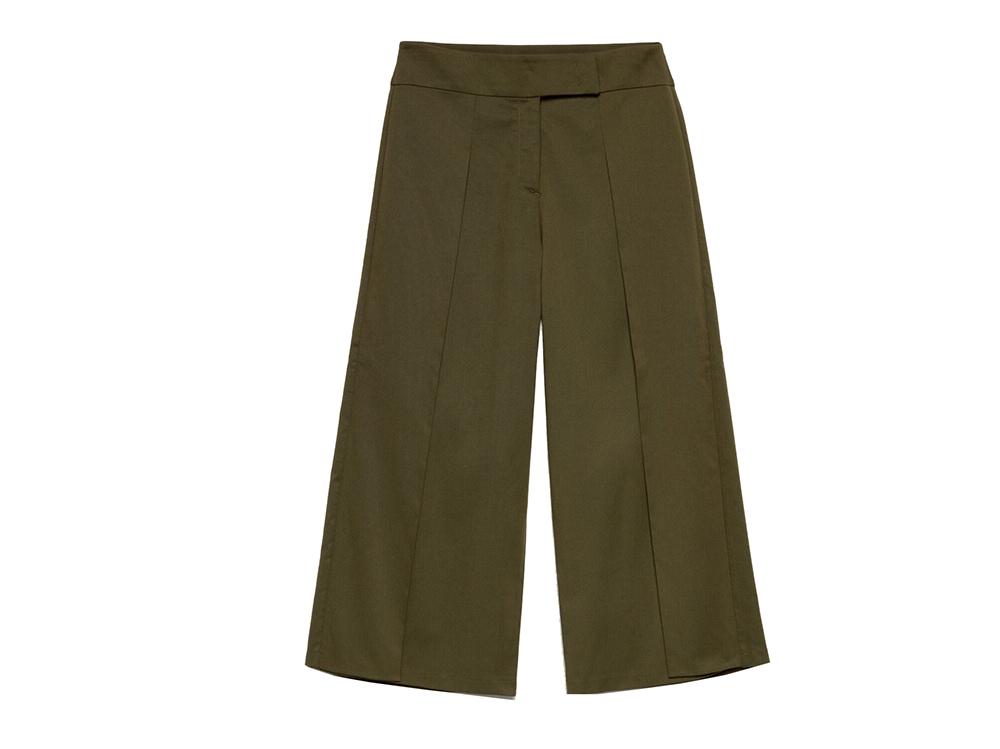 sisley-pantaloni-culotte-con-motivi-a-pieghe-sul-davanti