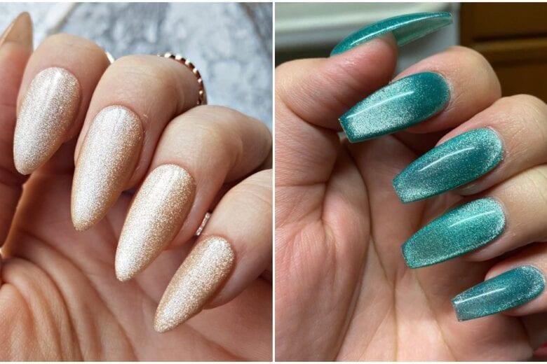 Velvet Nails: le unghie cangianti effetto velluto più cool del momento