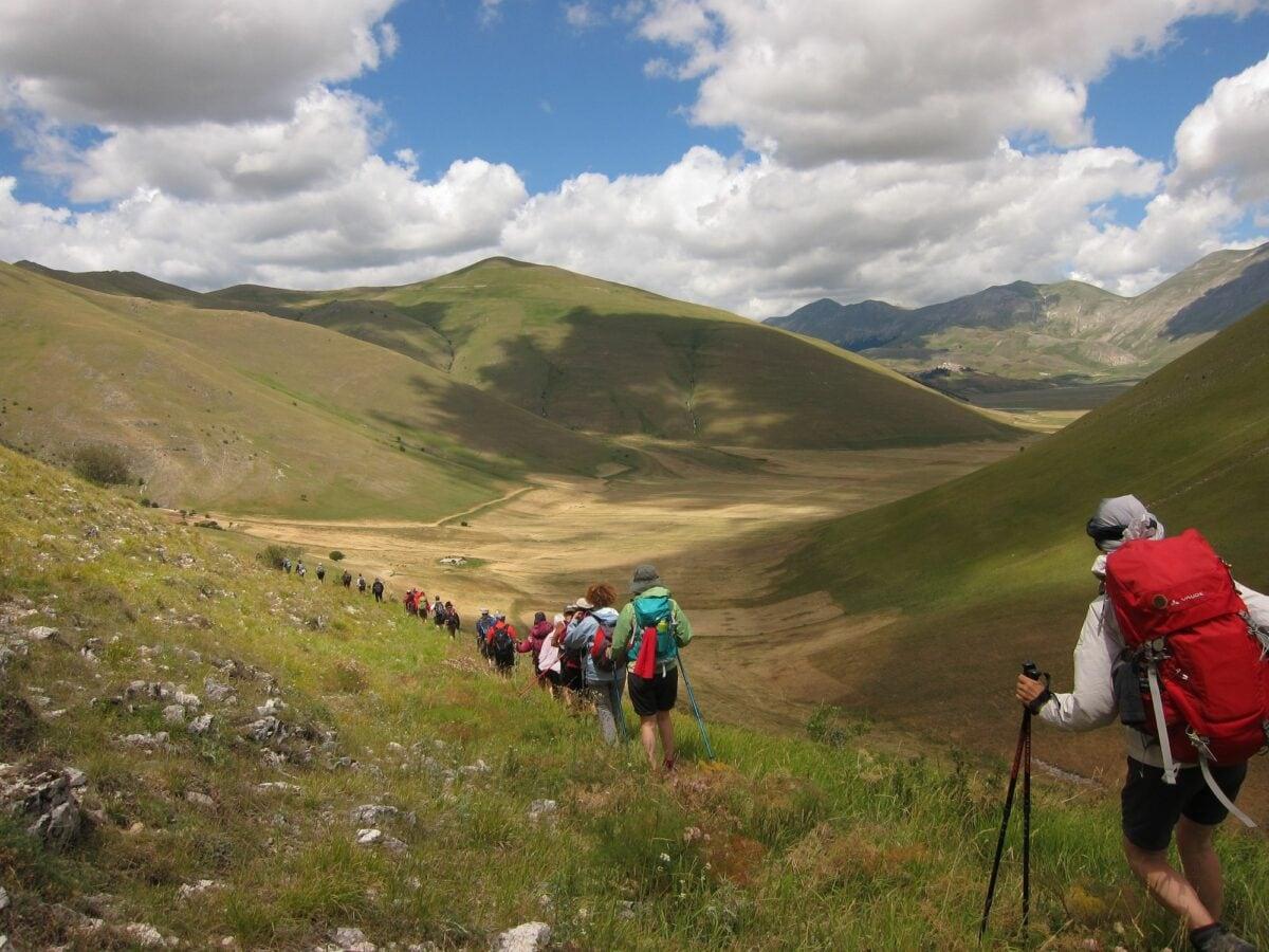 Cammino Terre Mutate Tappa 7 Norcia – Castelluccio di norcia (49)