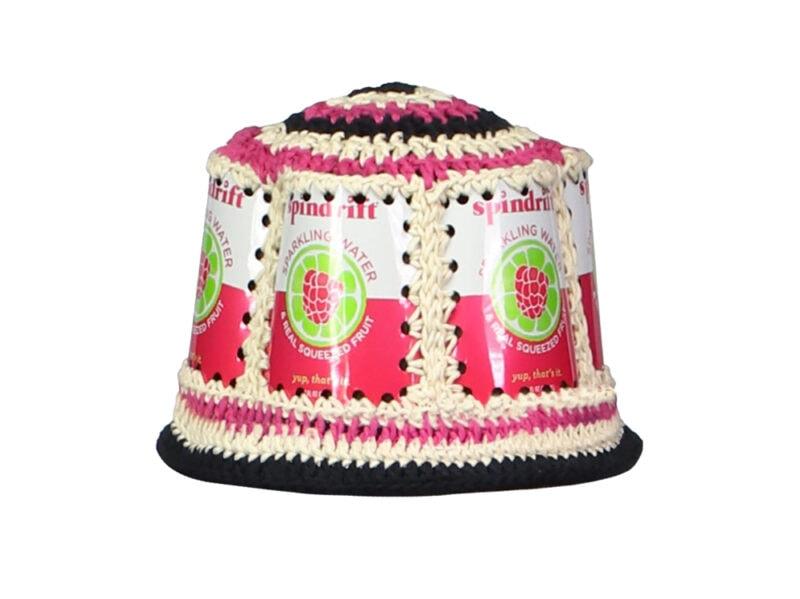 Cappello-Raspberry-riciclato,-Anna-Sui