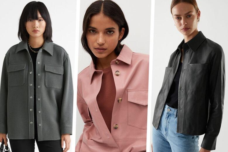 """Un po' shirt e un po' jacket: inizia l'era della """"shaket""""! 10 modelli """"very cute"""""""