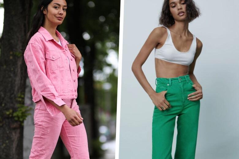 Denim a tutto colore: i capi e gli accessori in jeans si accendono di primavera!