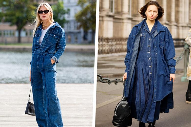 Tutte in jeans! 5 look total denim perfetti per la primavera