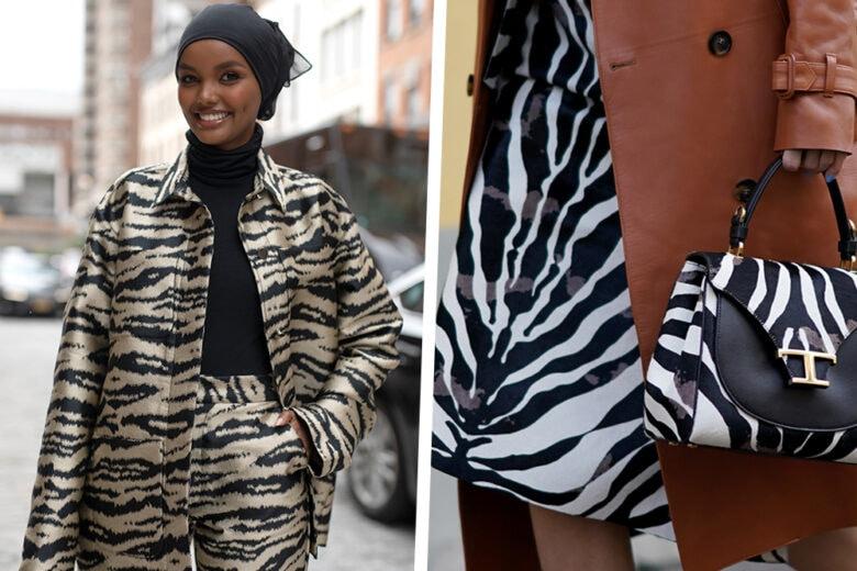 Bye bye leopardo! È quella zebrata la stampa più cool della primavera-estate