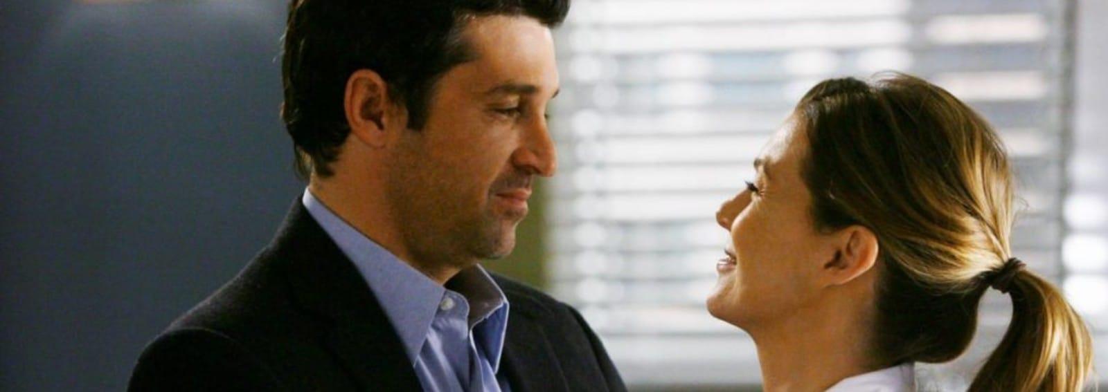 Grey's Anatomy Meredith Derek hero