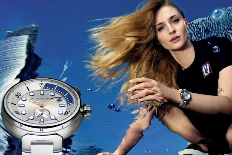 Tambour Street Diver, il nuovo orologio sporty-chic di Louis Vuitton