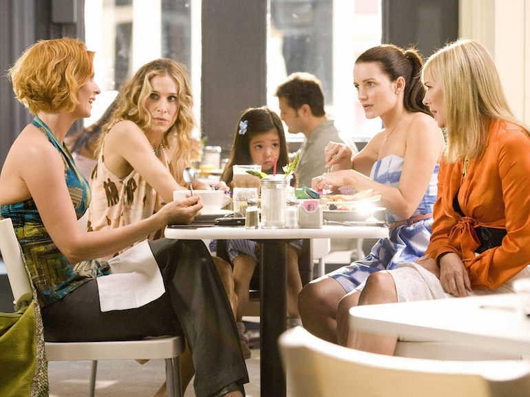Sex and the city pranzo