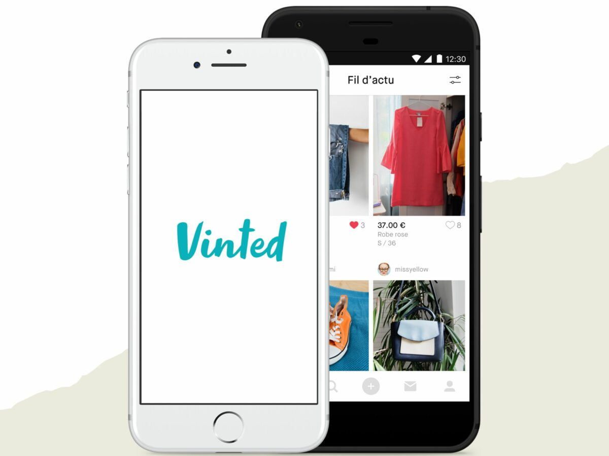 Vinted_Apps with logo in screen