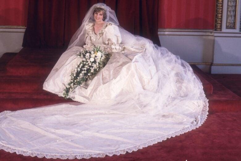 L'abito da sposa della Principessa Diana sarà esposto a Kensington Palace per la prima volta dopo 25 anni