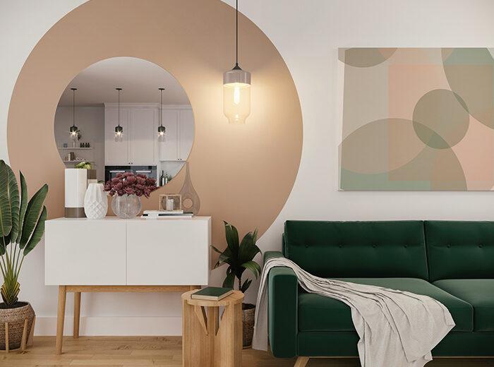 8 idee originali per colorare le pareti di casa (da copiare subito)