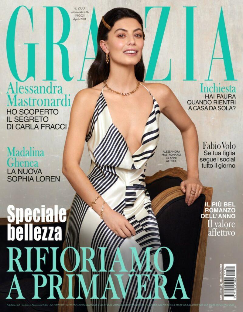 Grazia è in edicola con Alessandra Mastronardi