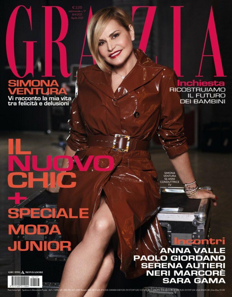 Grazia è in edicola con Simona Ventura