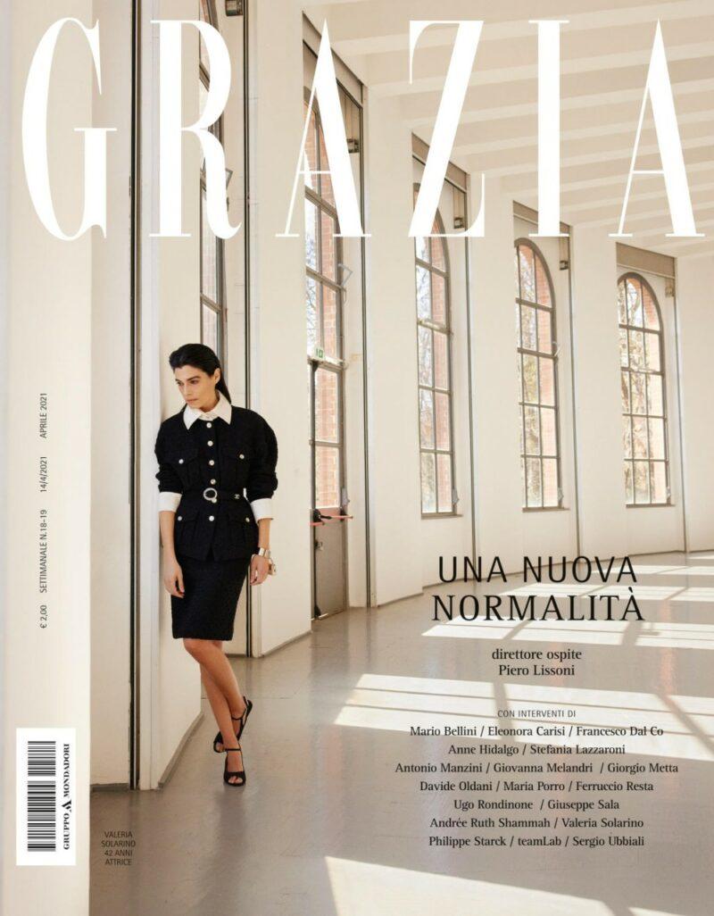 Grazia: Piero Lissoni per la prima volta direttore ospite del magazine diretto da Silvia Grilli