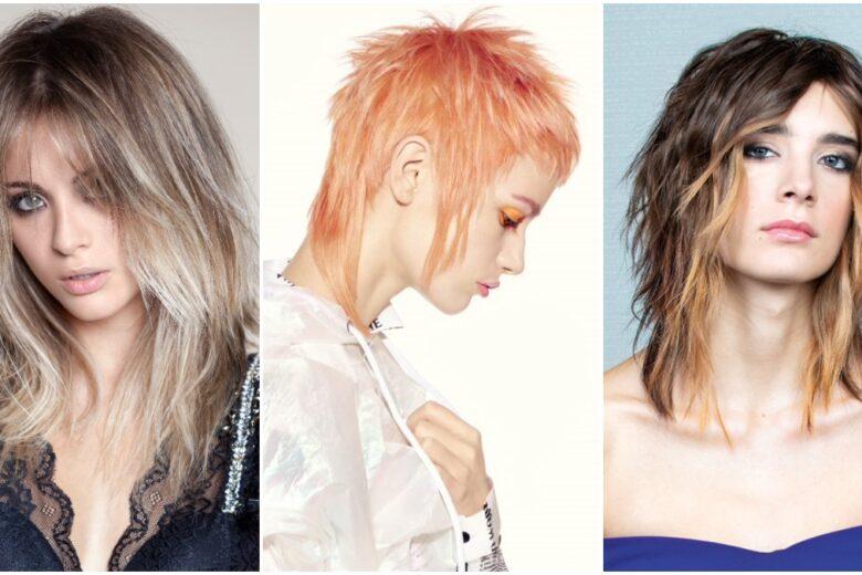 Tagli capelli scalati 2021: i più belli medi, corti e lunghi dai Saloni