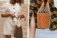"""""""Net bag"""", le borse in rete più amate dalle parigine sono 'oh là là'!"""