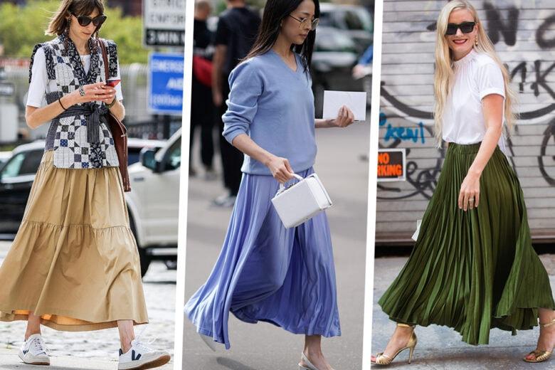 Scarpe per gonne lunghe: 5 style inspo da copiare subito