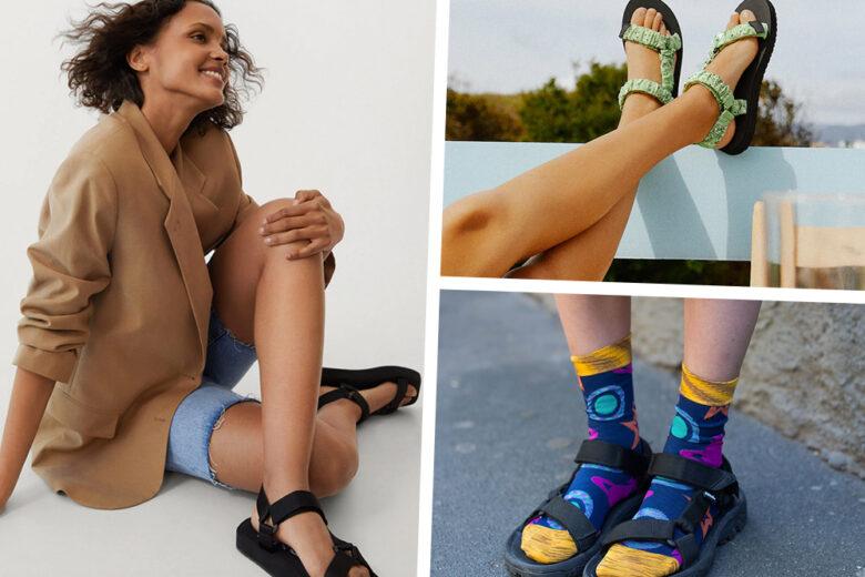 L'ultima tendenza tra i sandali? Quelli con gli  strappi in velcro che fanno impazzire le influencer (e anche noi, lo confessiamo!)