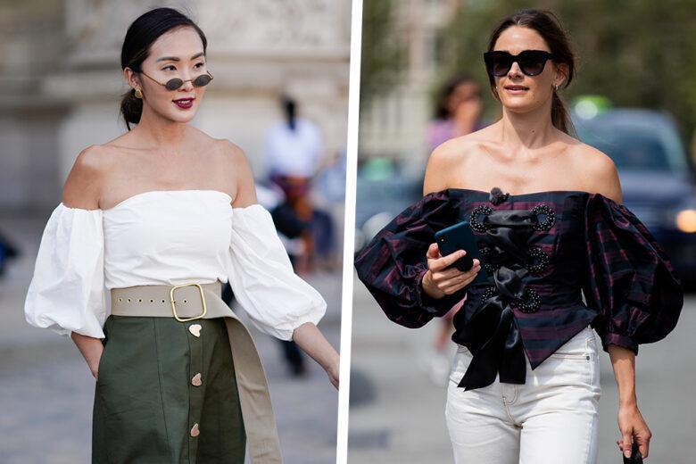 """Bluse e top con le spalle scoperte: 15 modelli con scollo """"alla Bardot"""" da comprare al volo"""