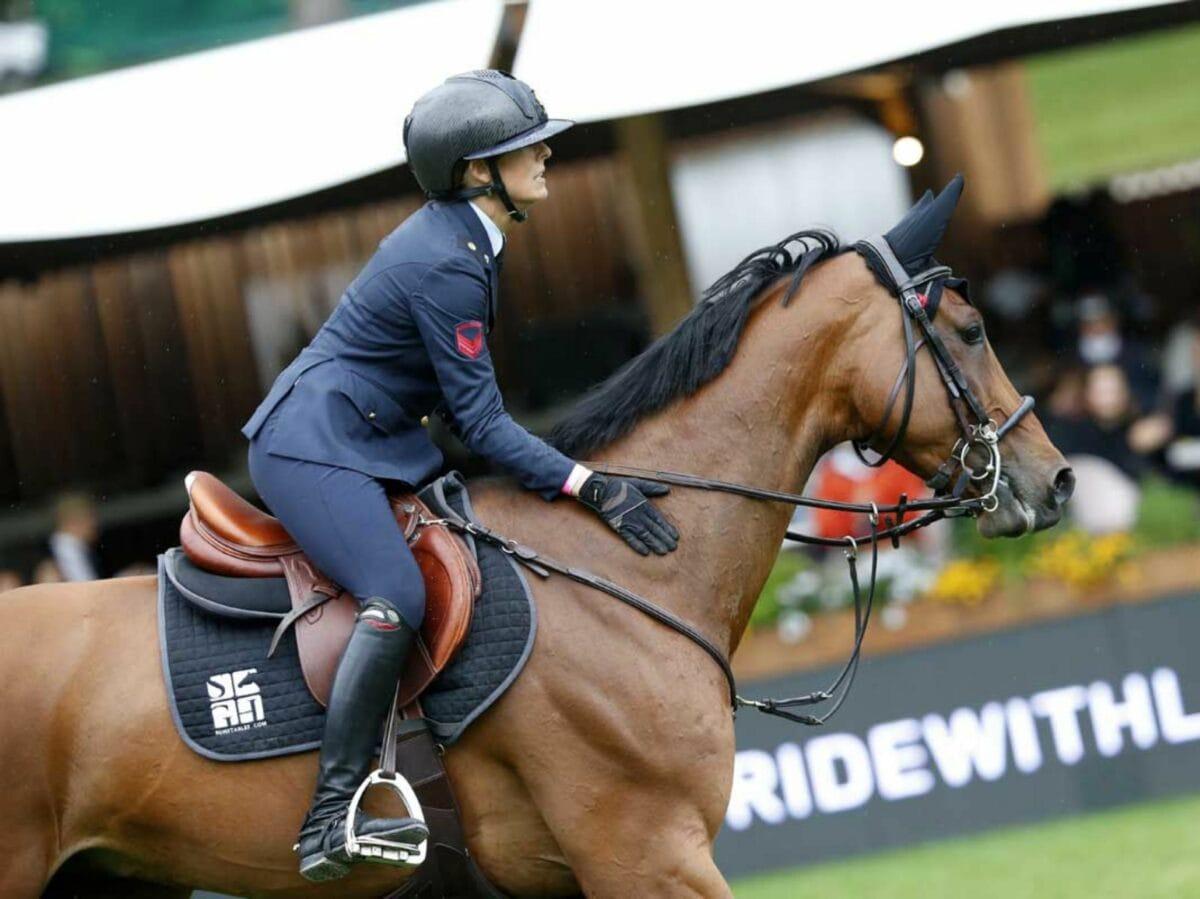 Giulia Martinengo Marquet equitazione