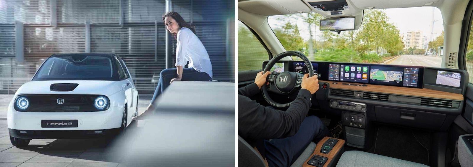 Honda e auto elettrica DESK