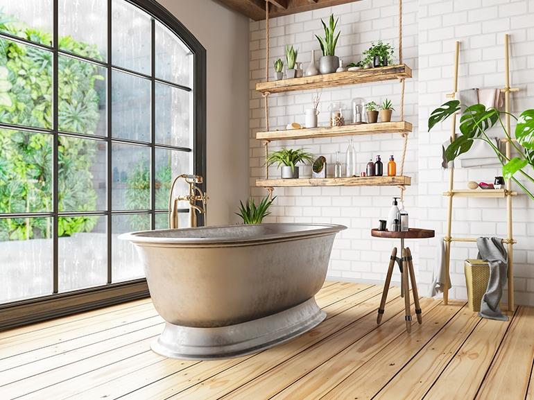 come arredare bagno naturale cover mobile