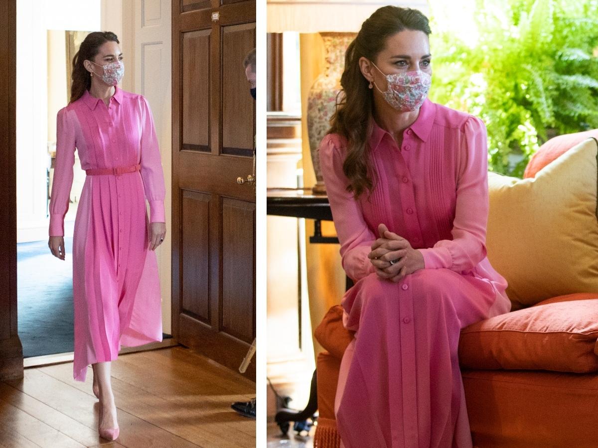 kate abito rosa