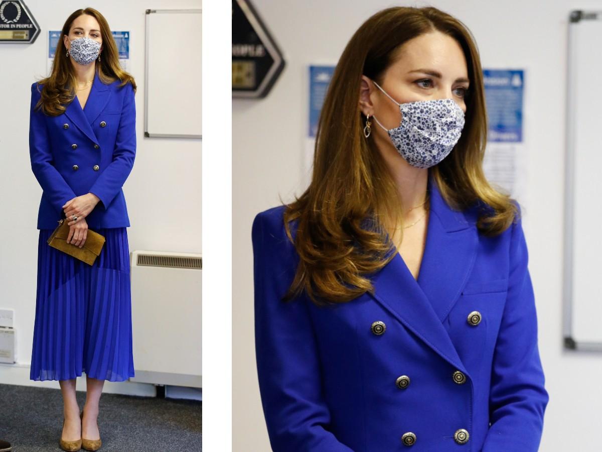 kate completo royal blu