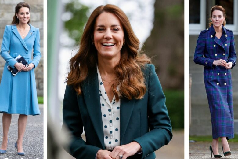 Kate Middleton e tutti i suoi look per il royal tour in Scozia