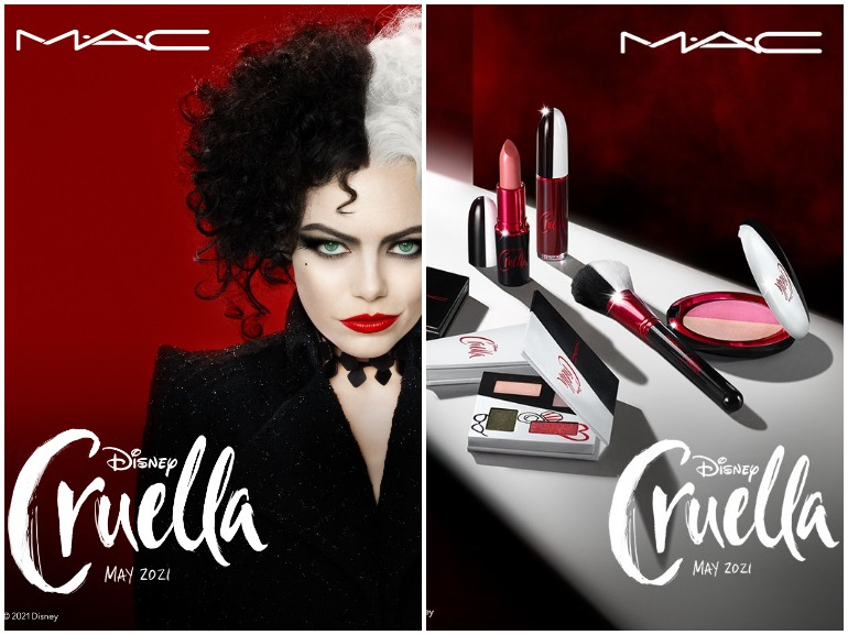 mac cruella disney collezione make up cover mobile