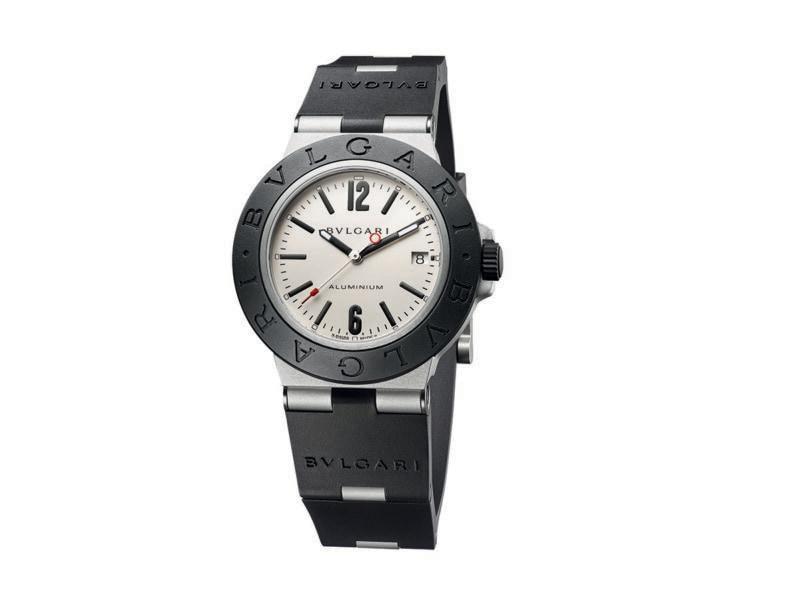 orologio Aluminium quadrante grigio chiaro