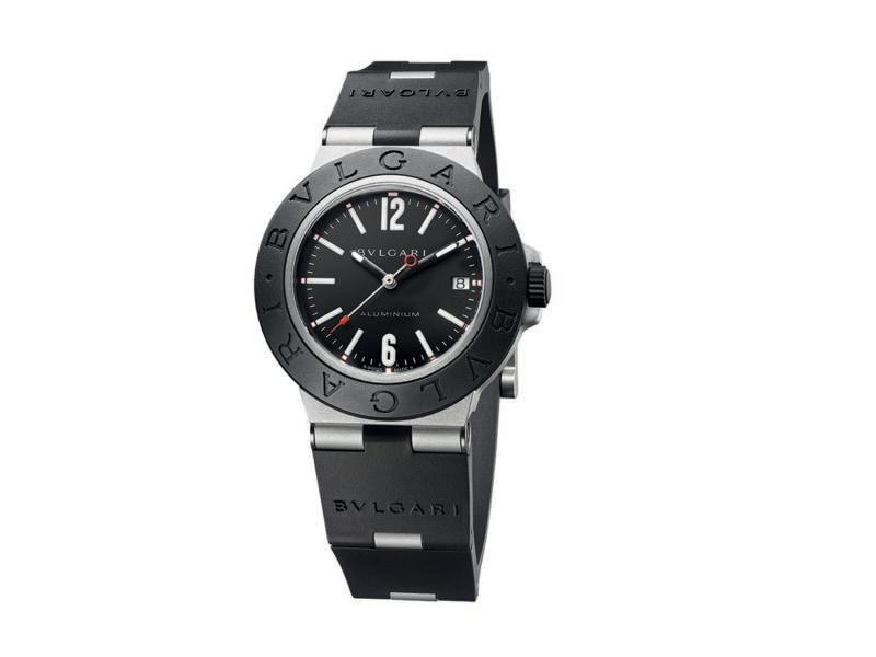 orologio Aluminium quadrante nero