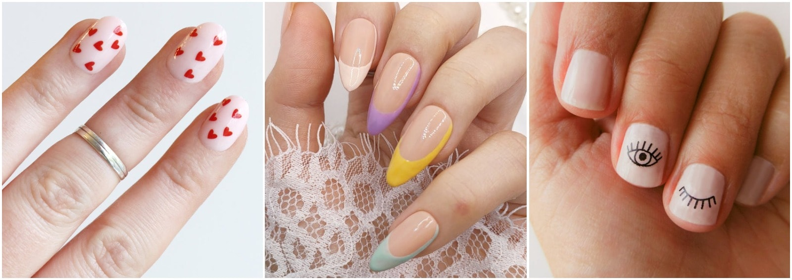 unghie estive 2021 semplici nail art facili cover desktop