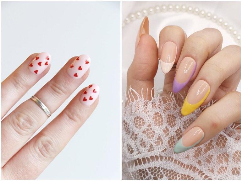 unghie estive 2021 semplici nail art facili cover mobile