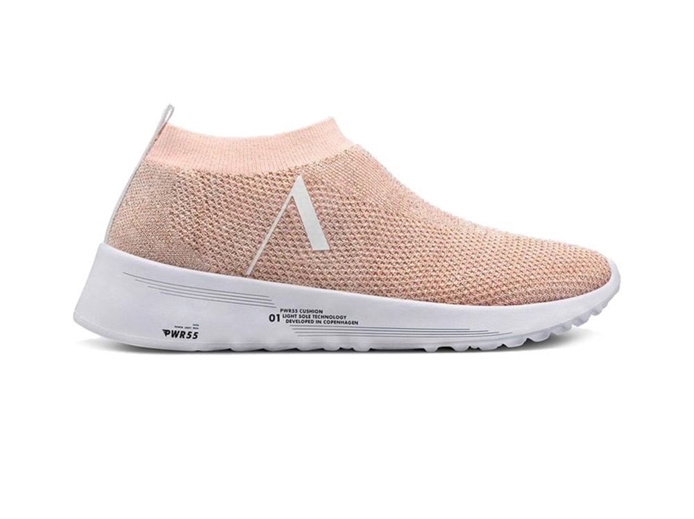 ARKK-COPENAGHEN-Sneaker-minimalist-in-lurex-rosa-antico